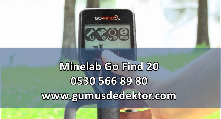 Minelab Go Find 20 Metal Dedektörü