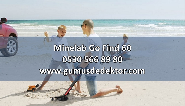 Minelab Go Find 60 Metal Dedektörü